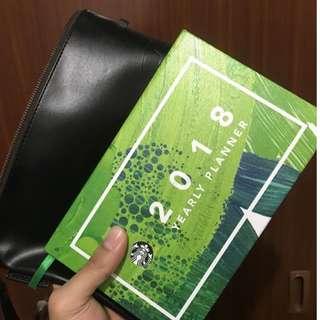 Starbucks Planner 2018(Free Ongkir + 6 macam Starbucks Teavanna)