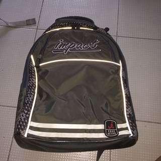 Impact School Bag GREY