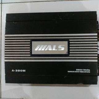 Power Amplifier 3500 Watts