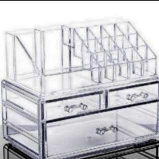 Acrylic Makeup Organizer Box