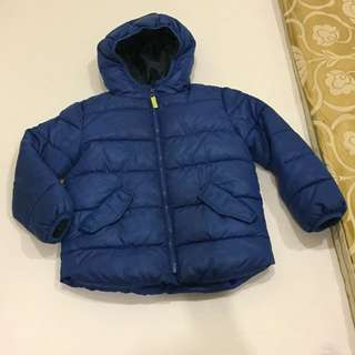 Mango puffer bubble jacket for 5 to 6 years fit up to 7 years boy