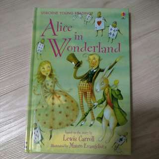 Usborne young reading - Alice in Wonderland Story Book