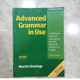 Cambridge Advance Grammar Use