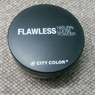 CITY COLOR Flawless Natural Loose Powder (Soft Beige)