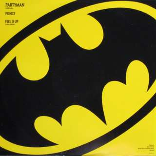 "Vg+ batman partyman record vinyl 12"" pop rock"
