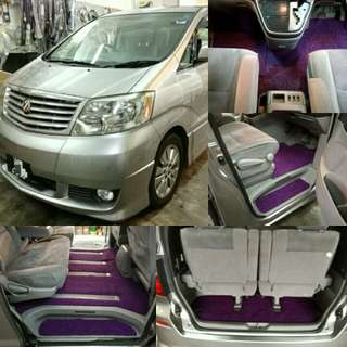 Toyota Alphard for rent/sewa