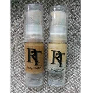 RoseTyara Foundation (Selling both together)