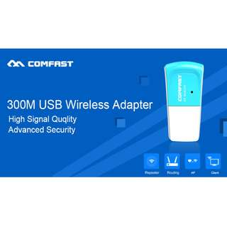 Comfast 300mbps USB Wireless Adapter