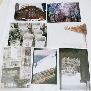 韓國旅行買的明信片