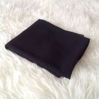 •PRELOVED• Black Chiffon Shawl