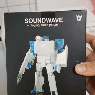 Transformers Soundwave Real Mp3 player