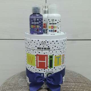 The Body Shop X House of Holland White Musk Small Package