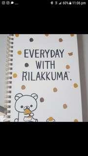 BN Rilakkuma NoteBook