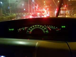 Toyota Estima ACR50 speedo