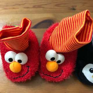 Mothercare Elmo prewalker shoes/socks