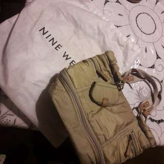 Nine West Polyester Tote Bag Authentic
