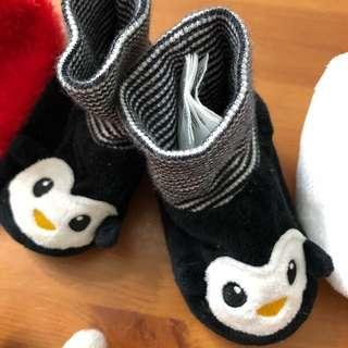 Baby Shoe H&M Penguin