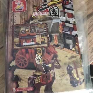 Non lego dynasty warriors three kingdom