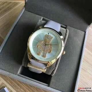 美國大媽代購 Vivienne Westwood 薇薇安 小熊學院風丘比特秒針手錶 時尚腕錶 歐洲代購