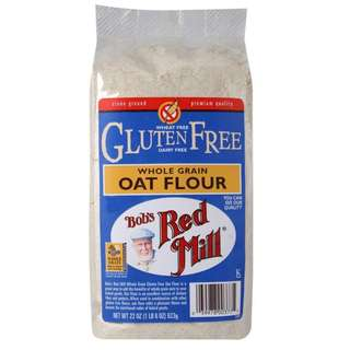 Bob's Red Mill, Whole Grain Oat Flour, Gluten Free, 22 oz (623 g) 燕麥粉