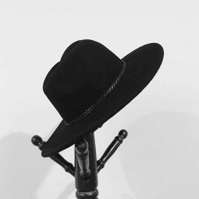 80% off ZARA Accessories Black Hat 155fe46d7fe