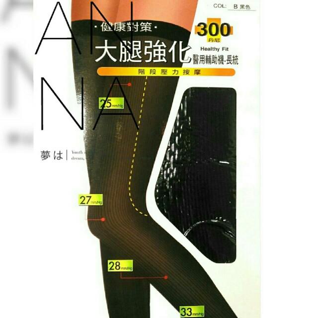 【智美精品屋】大腿襪 壓力襪 300D