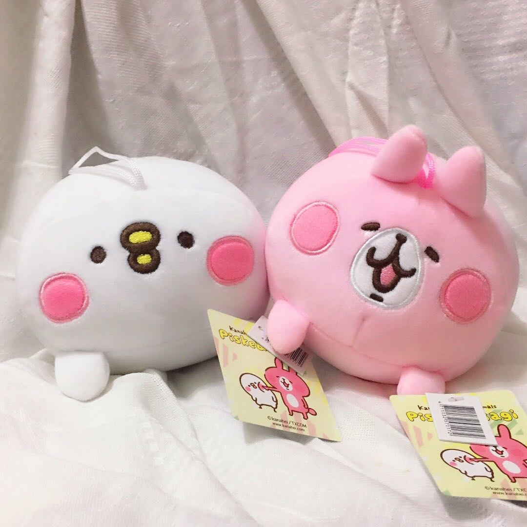 全新✨版貨 現正 卡娜赫拉 6吋 趴姿娃娃 兔兔 Usagi P助 Piske 日系 可愛萬物論 娃娃機 玩偶 絨毛 兔子