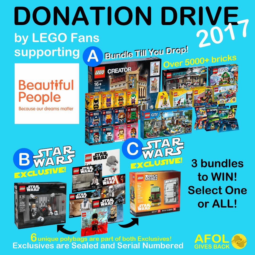 Ended Lego Charity Donation Drive Win Palace Cinema