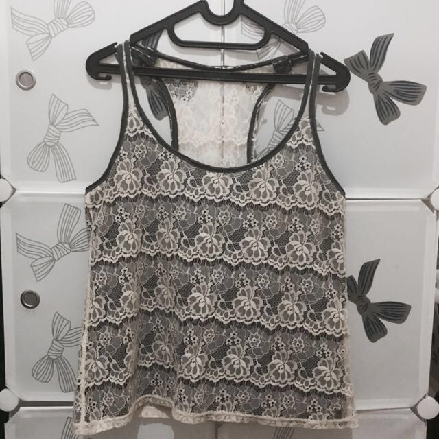 Abercrombie Lacey Tank