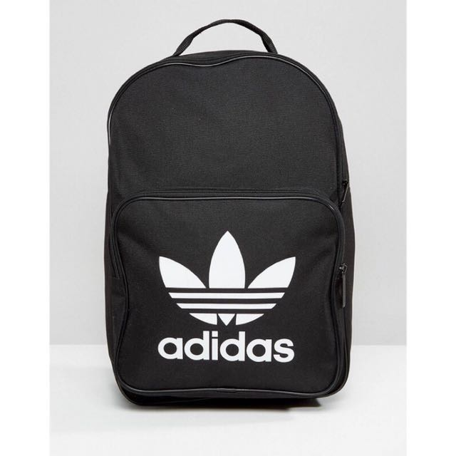 Adidas 愛迪達後背包 黑色