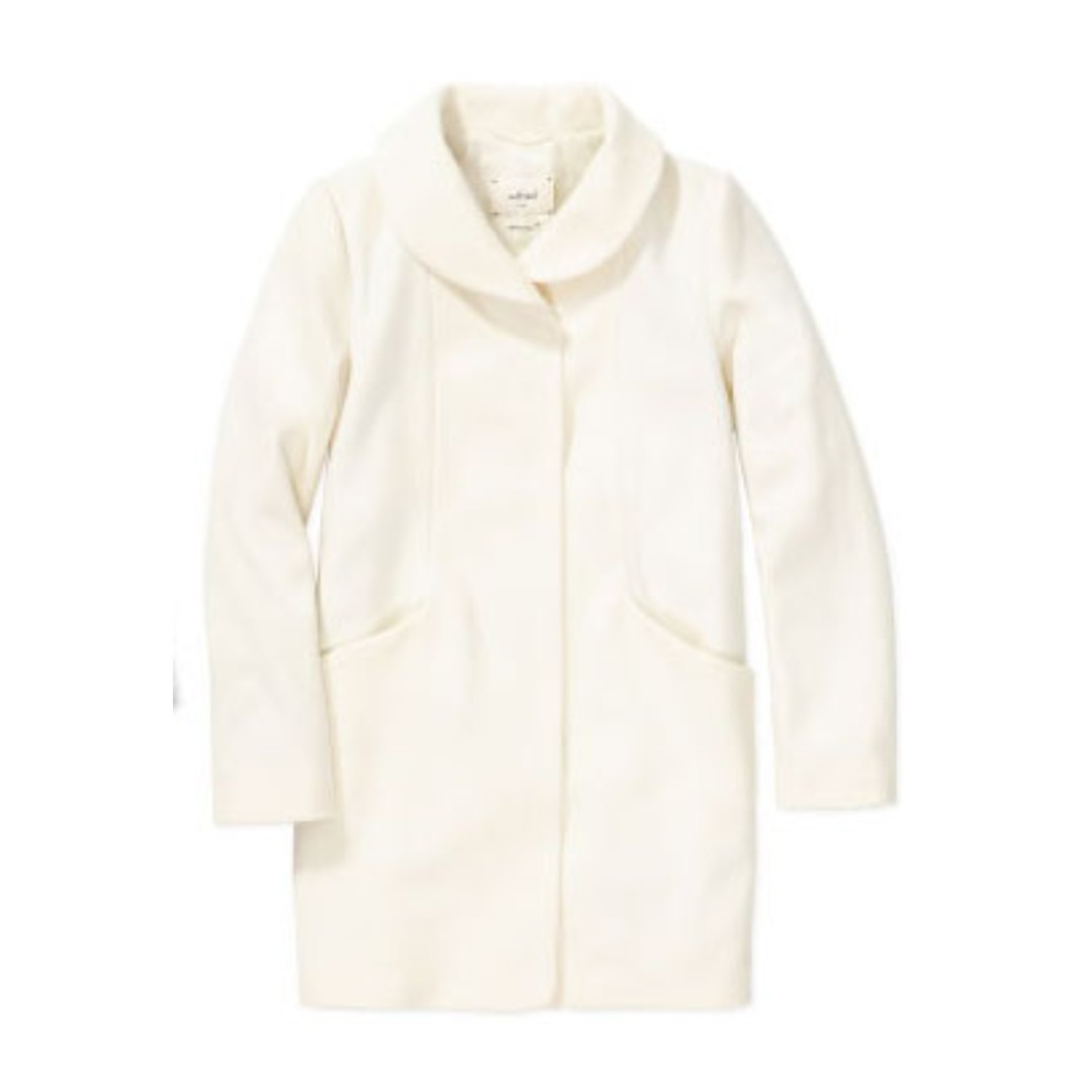 ARITZIA – WILFRED – SNOW (IVORY) COCOON COAT (XSMALL) BRAND NEW