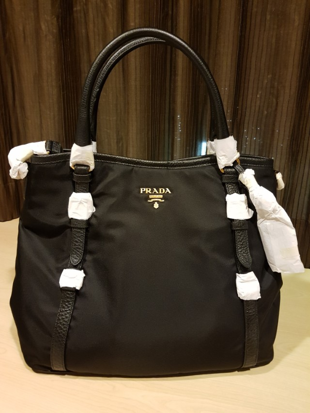 ... czech authentic prada bag nylon black fast deal 750 luxury bags wallets  on carousell e1b1a 64f43 77fe296e33ab3