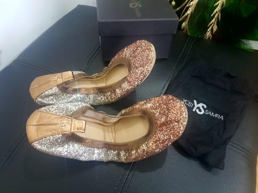 Authentic Yosi Samra serena glitter