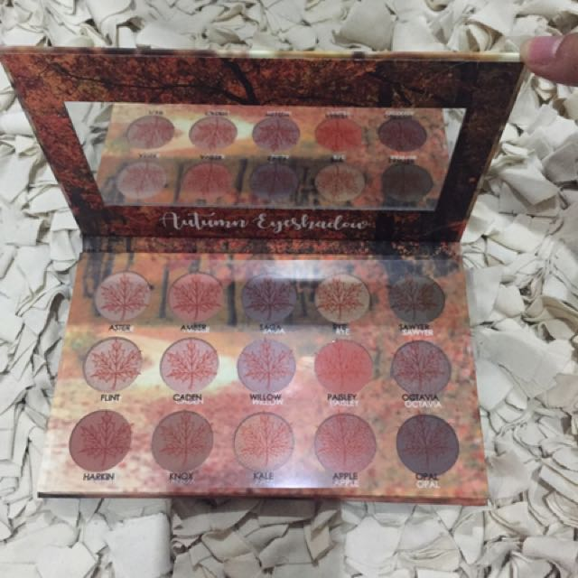 Autum eyeshadow