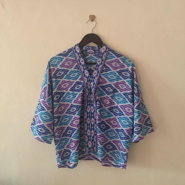 Batik Motif Tenun