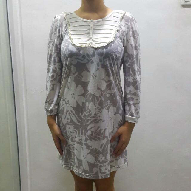 Bayo printed long sleeves dress