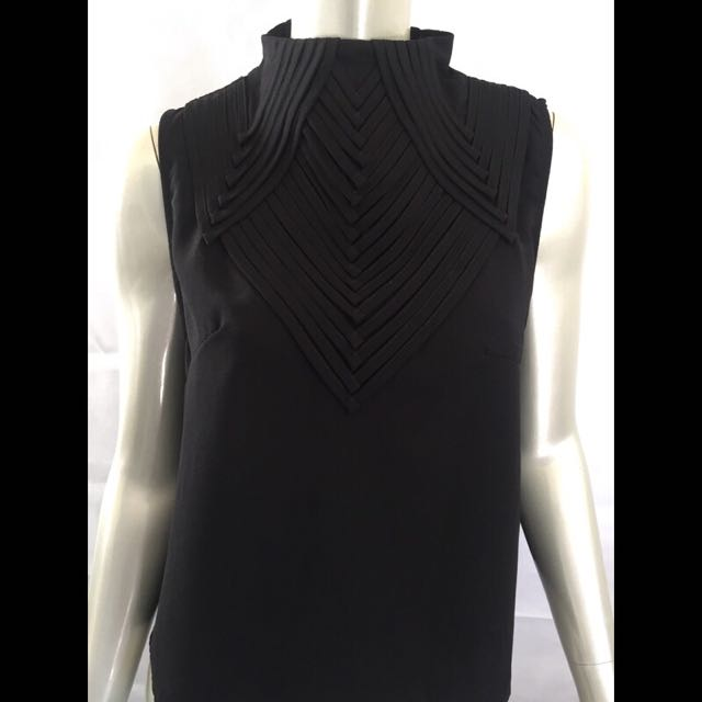 Black Indikah Top by Angel biba Size 12