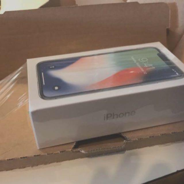 Brand new 64gb iPhone X (Space Grey)
