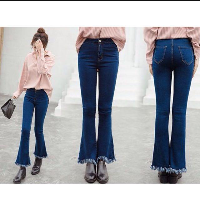 Celana panjang rumbai