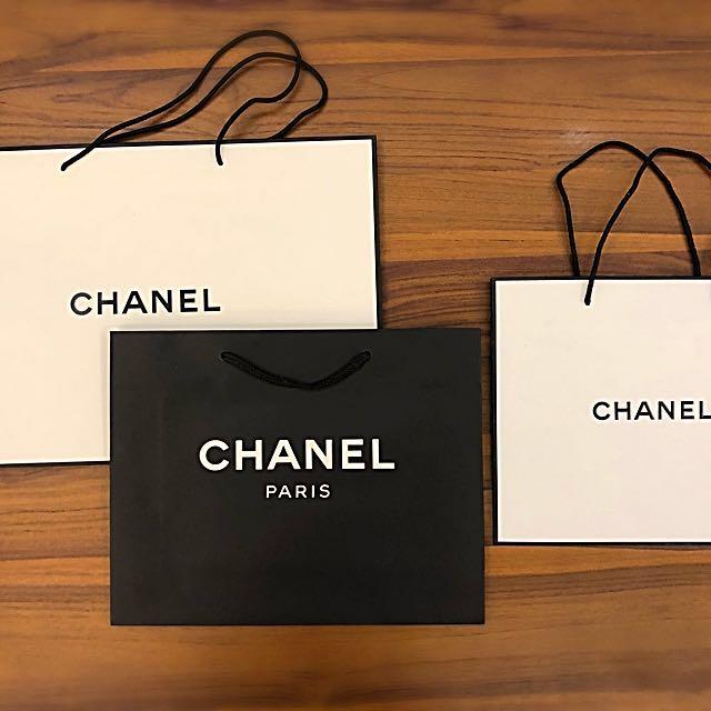 CHANEL各式品牌尺寸紙袋