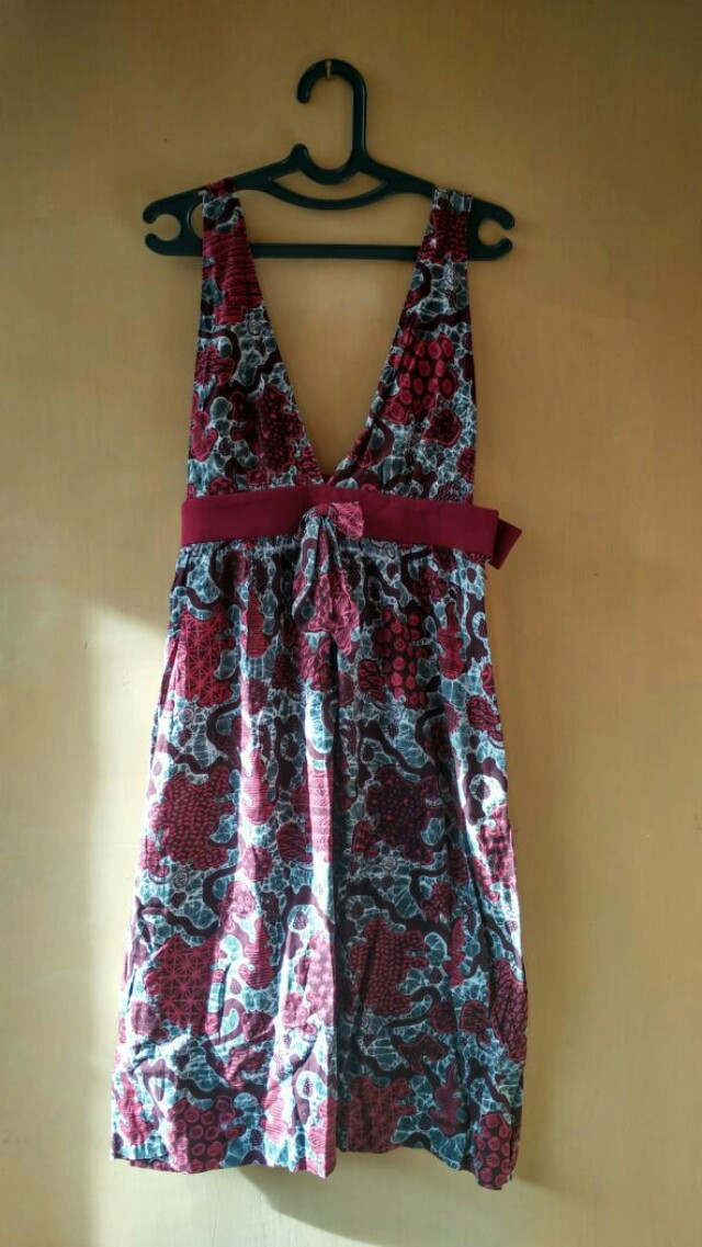 Cherry Red Batik