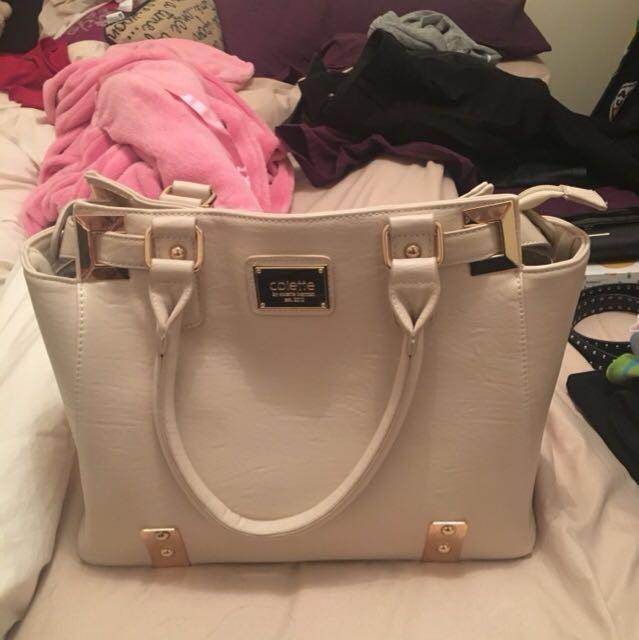 Colette Beige Bag