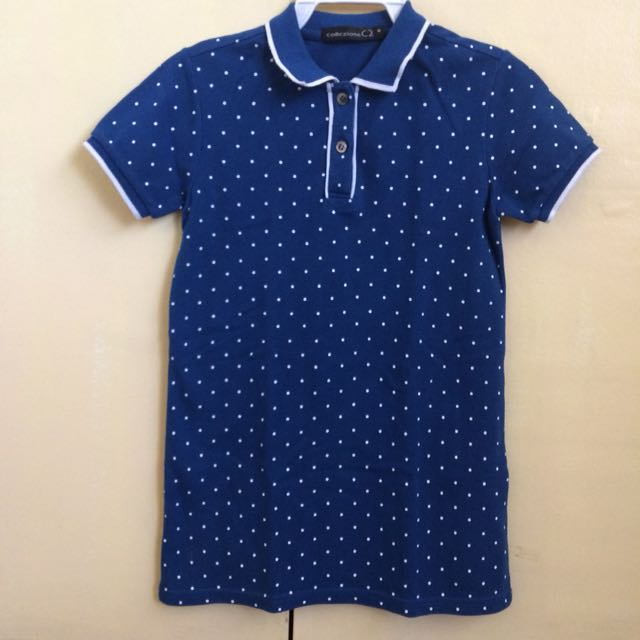 Collezione blue polo dress