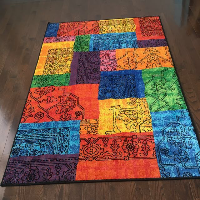 Colorful Rug - Barely Used
