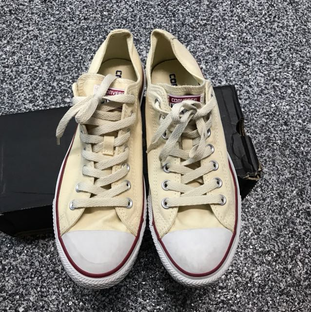 Sneakers for Women On Sale, Dirty White, Fabric, 2017, US 8 (EU 39) US 10.5 (EU 41) Converse