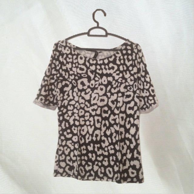 Cotton On Black n White Shirt