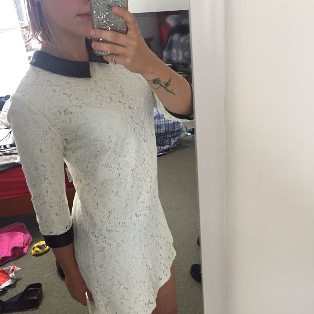 decjuba collection white dress