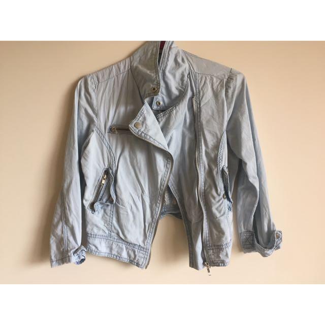 Denim Look Jacket 8