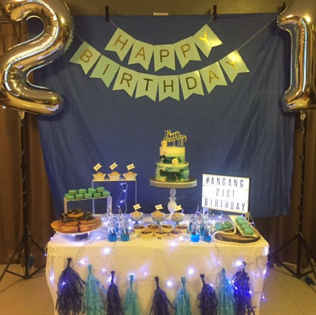 Dessert Table Set Up Rental Services Food Drinks Baked Goods On Carousell
