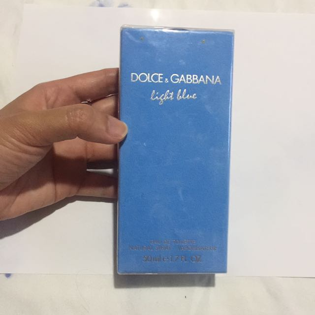 Dolce and gabbana light blue